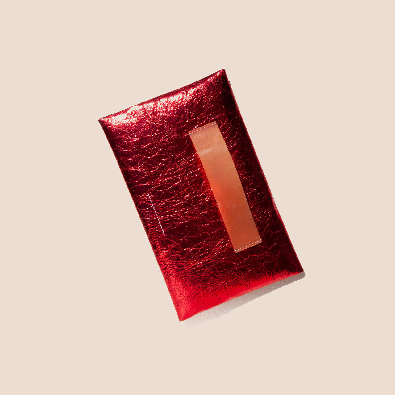 MM6 - Small Zip Pouch - Pompeian Red, available at LCD