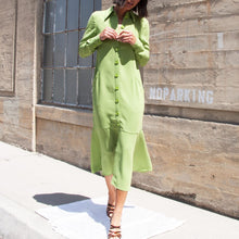 Load image into Gallery viewer, Tibi - Spring Maxi Shirtdress, front view, available at LCD.