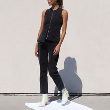 Load image into Gallery viewer, Aalto - Stretch Crop Denim Pant, angled view, available at LCD.