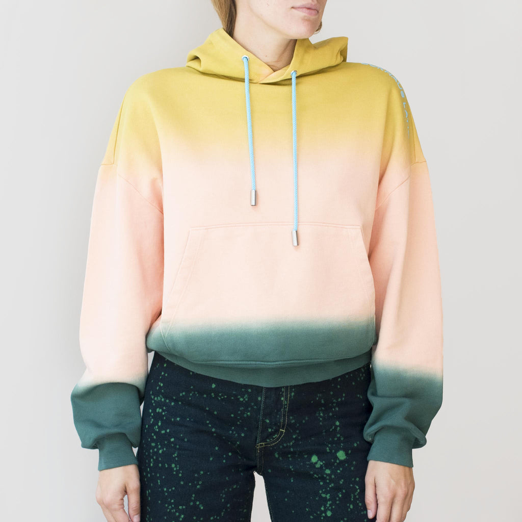 Eckhaus Latta - Hoodie - Sunset, front view, available at LCD.