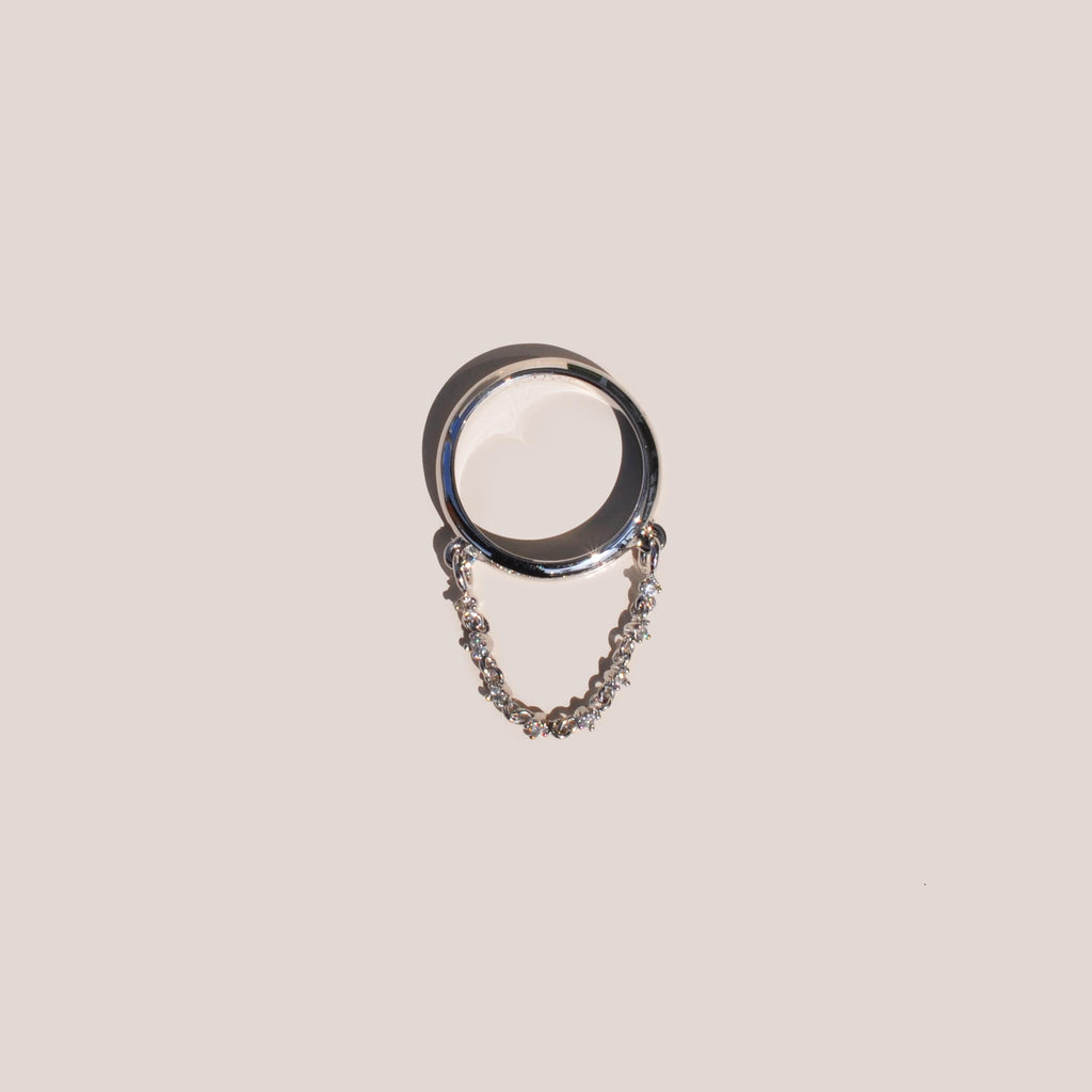 Sandy Liang - Swoop Ring, available at LCD.