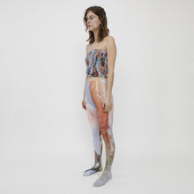 Load image into Gallery viewer, Collina Strada - Photo Tights - Sistine Tomato, front angled view, available at LCD.