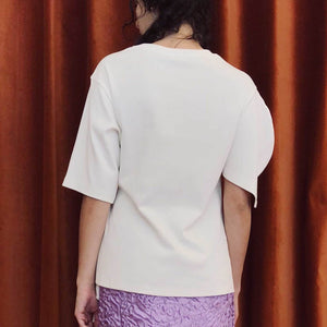 Aalto - T-Shirt with Asymmetrical Sleeves, available at LCD