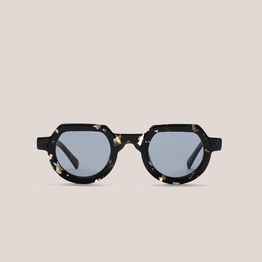 Braindead - Tani Sunglasses - Tri Tortoise, front view, available at LCD.