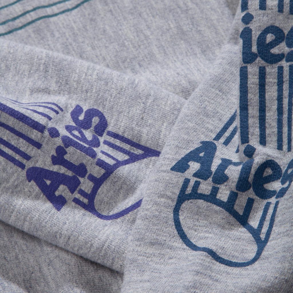 Aries - Temple Hoodie, sleeve detail, available at LCD.