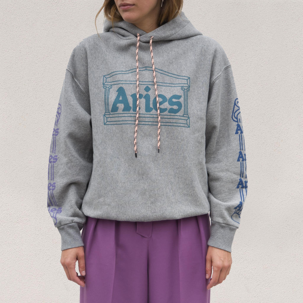 Aries - Temple Hoodie, front view, available at LCD.