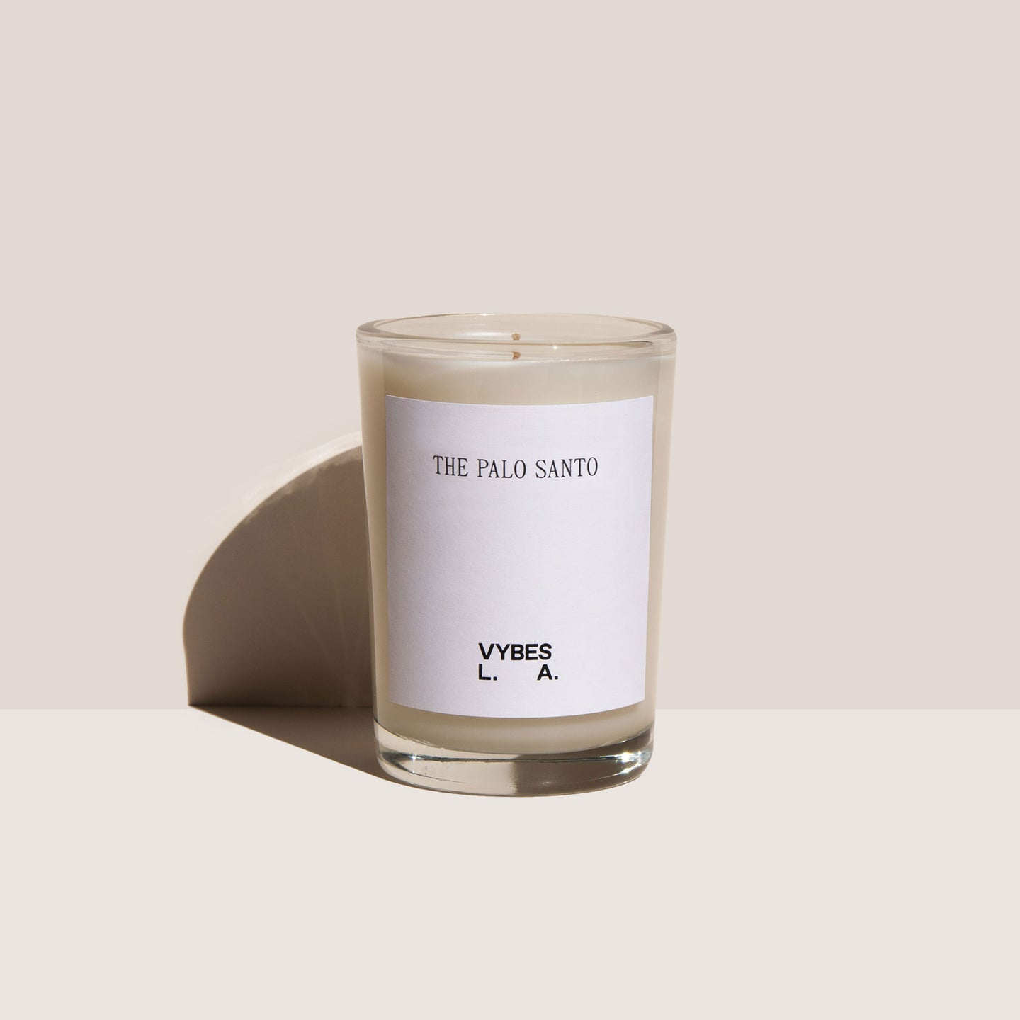Vybes - The Palo Santo Candle, available at LCD.