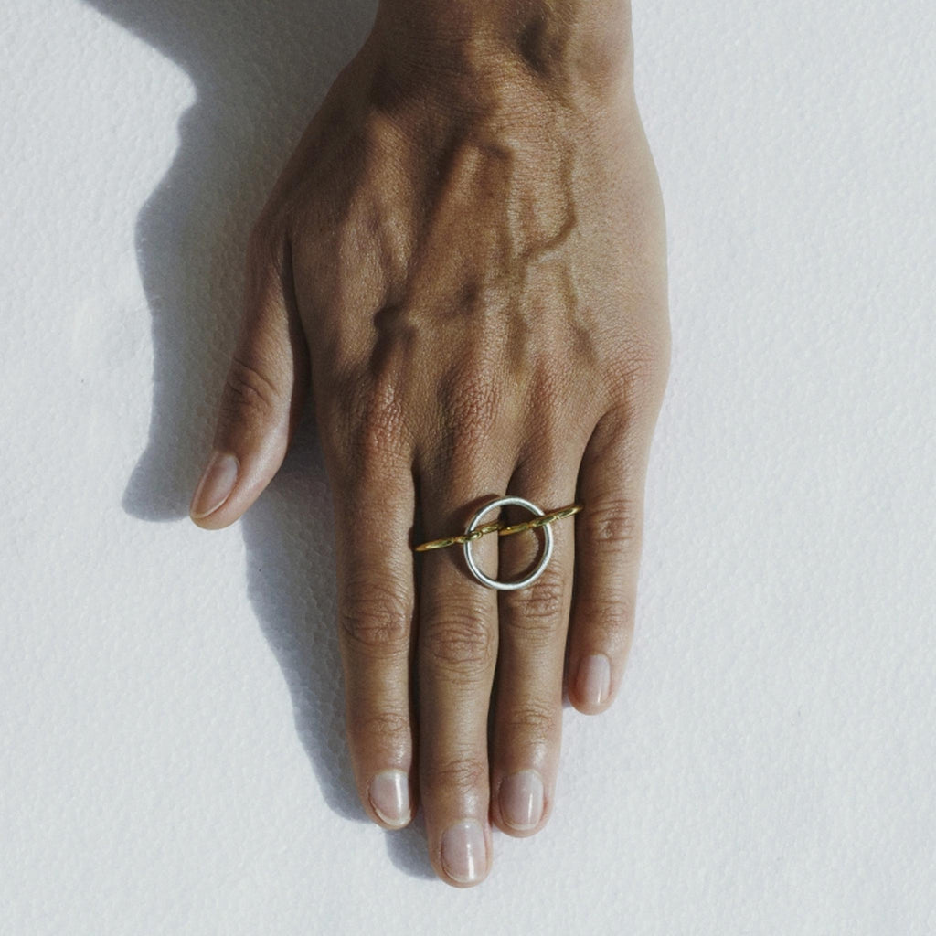 Charlotte Chesnais - Three Lovers Ring.