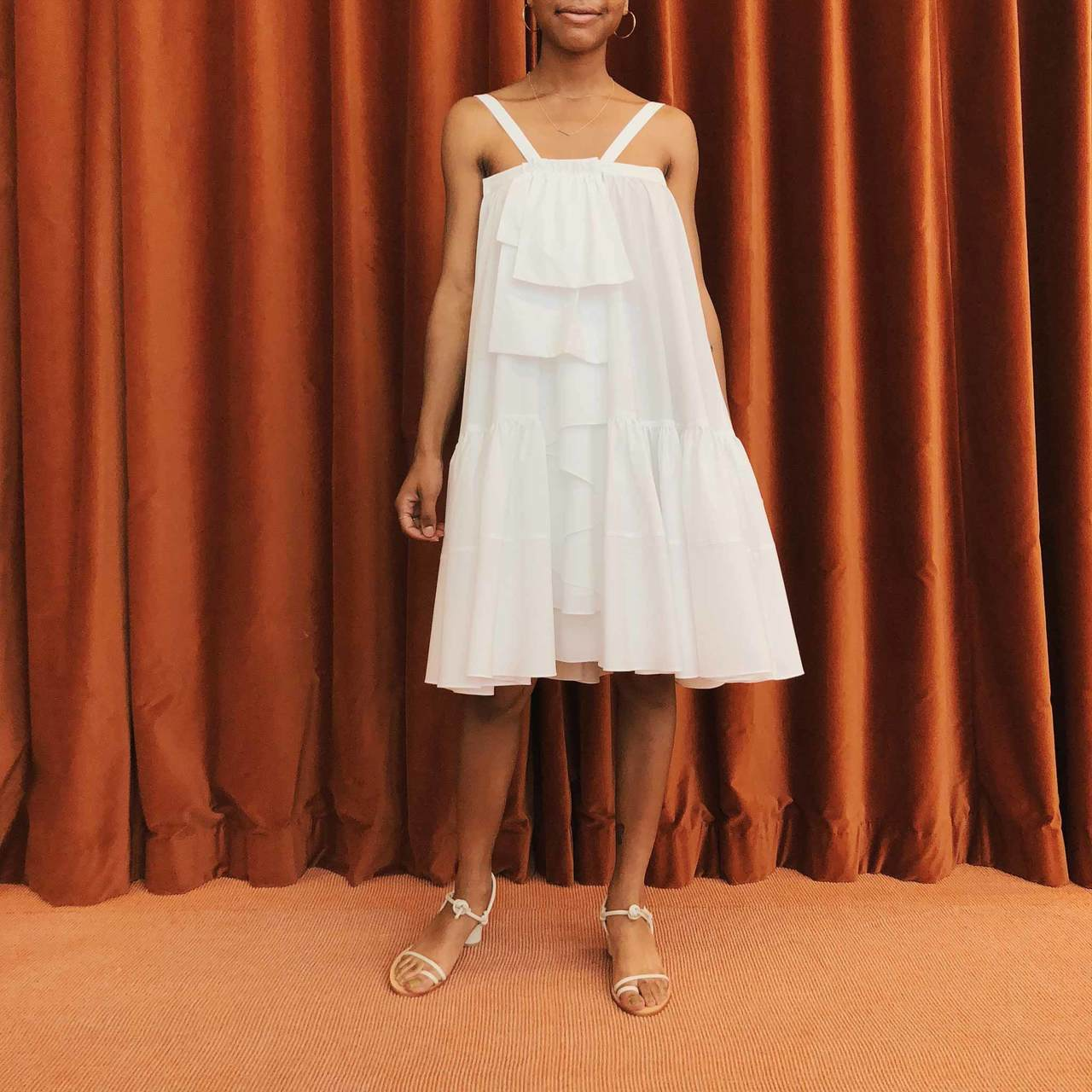 Creatures of Comfort - Tobias Dress - White, available at LCD
