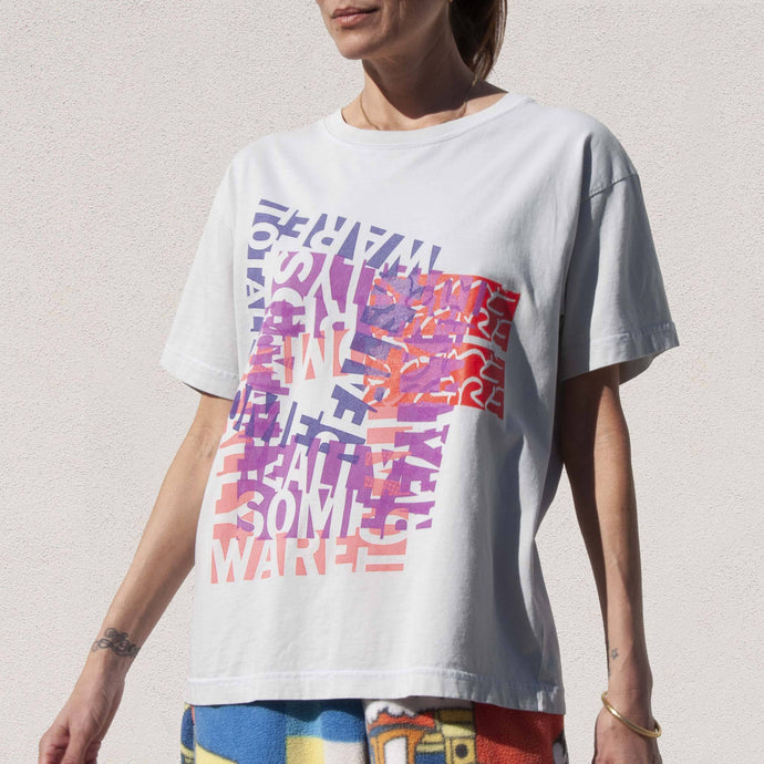 Someware - Totally Really Tee, front view, available at LCD.