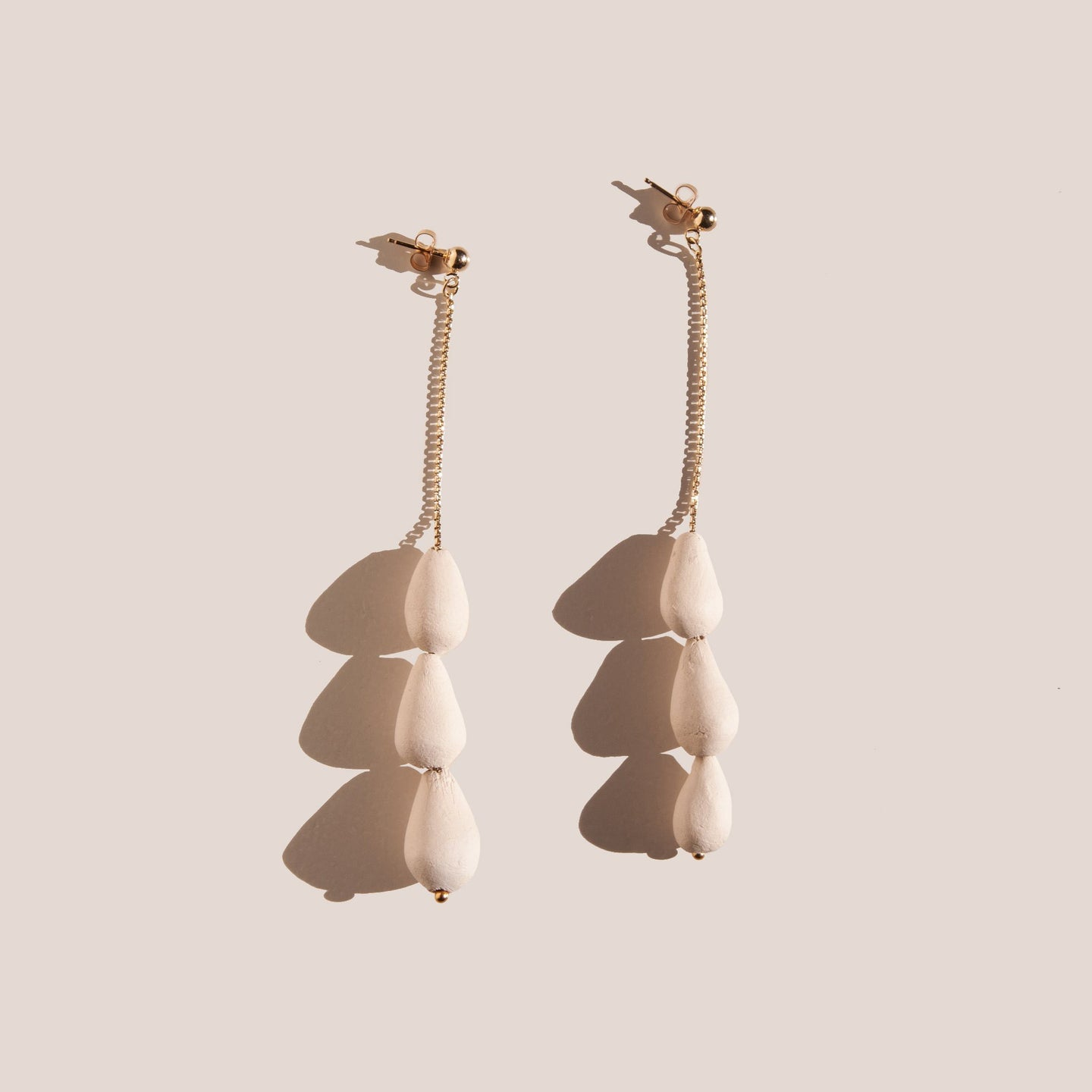 Eny Lee Parker - Tres Gotas Earrings, available at LCD.