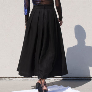 Mara Hoffman - Tulay Skirt, back view, available at LCD.