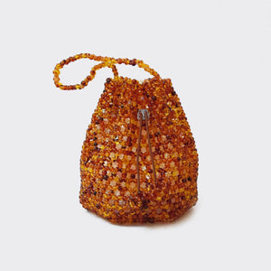 Not Impressed - Tulipa Bag - Faux Tortoise, available at LCD