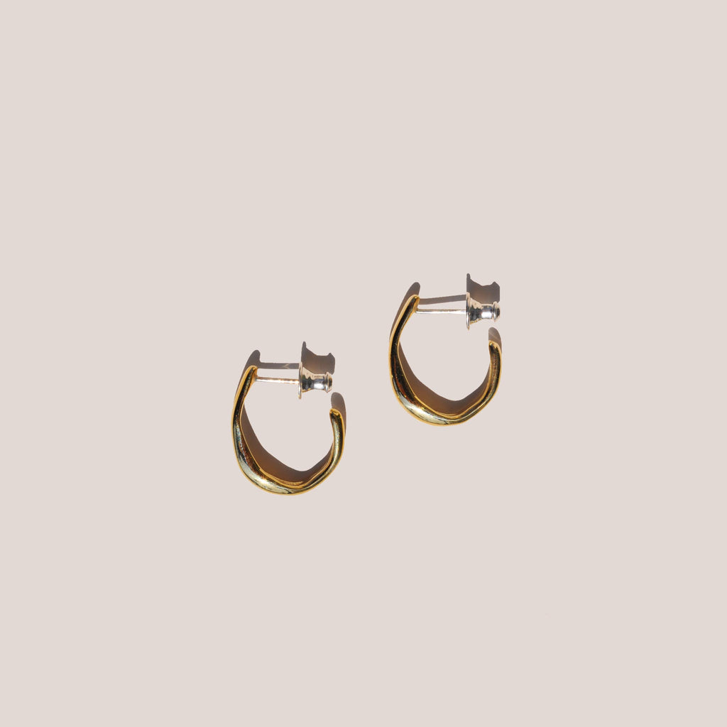 Faris - Vero Small Hoops - Bronze, available at LCD.