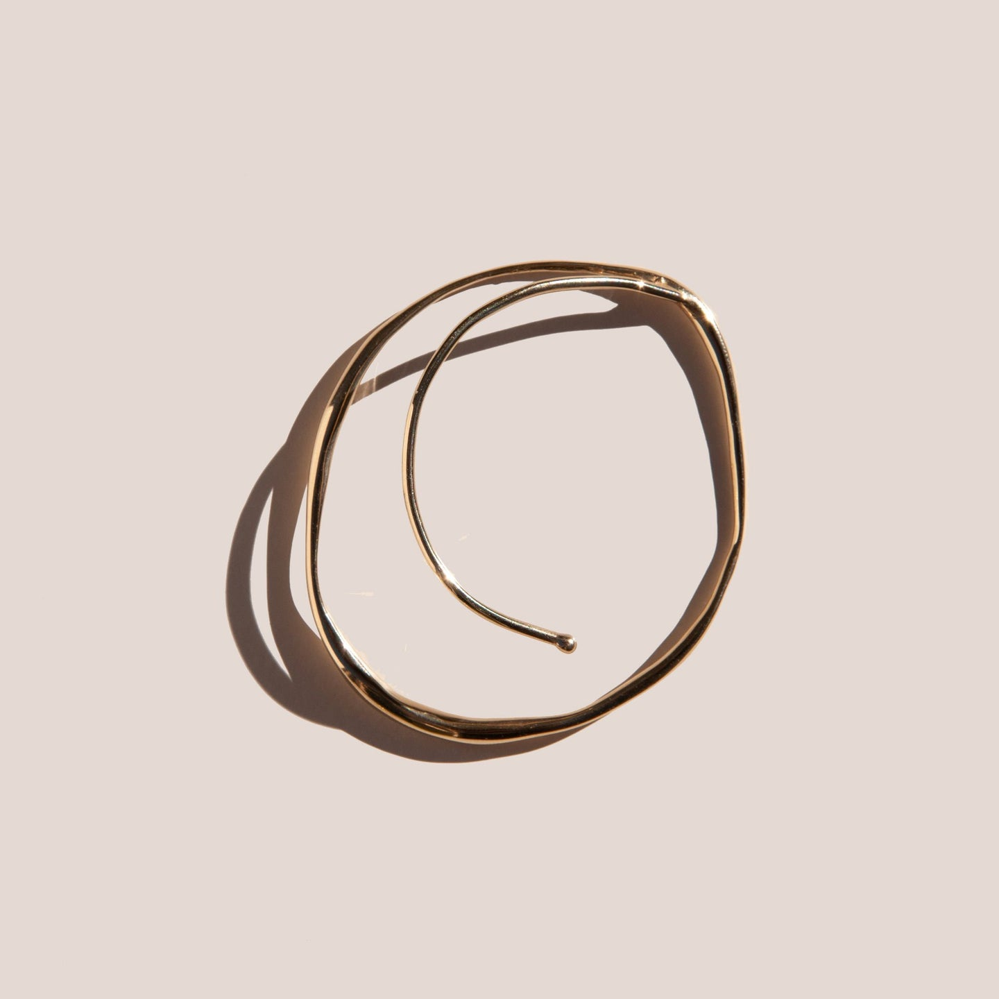 Faris - Vinea Orbit Ear Cuff, available at LCD.