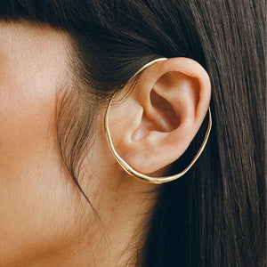 Faris - Vinea Orbit Ear Cuff, as seen on the ear, available at LCD