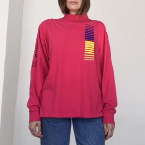 Rxmance Vintage - Vintage Fuchsia Vuarnet LS Tee, available at LCD.