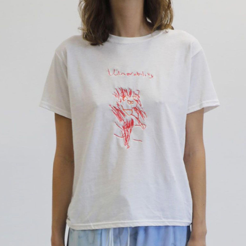 Collina Strada - Vulnerability Lion Tee, available at LCD.