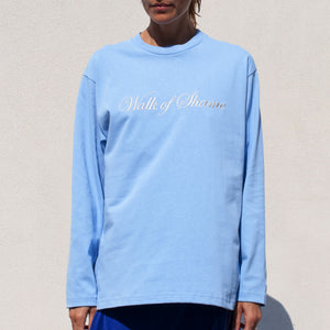 Walk of Shame - WOS Classic Longsleeve, front view, available at LCD.