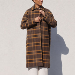 Rejina Pyo - Willa Coat, front view, available at LCD.