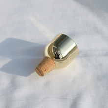 Load image into Gallery viewer, Fort Standard - Mass Wine Stopper - Brass Dome, available at LCD