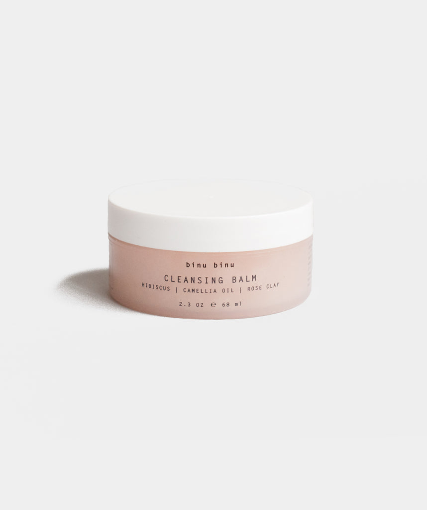 Binu Binu - Hibiscus Cleansing Balm, available at LCD