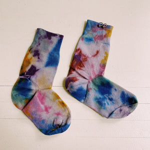 Kkco - Pierced Socks - Tie Dye, available at LCD.