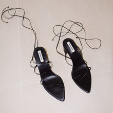 Load image into Gallery viewer, Reike Nen - Odd Pair Sandals - Black, available at LCD.