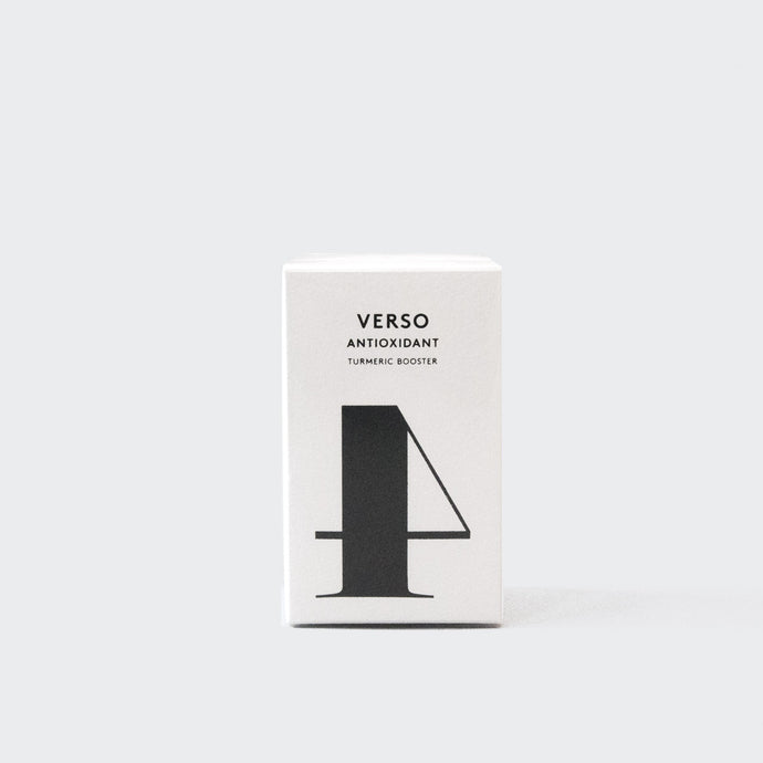 Verso Skincare - No. 4: Antioxidant Turmeric Booster, available at LCD