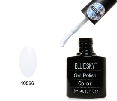 BLUESKY STUDIO WHITE 80526 WITH TOP AND BASE COAT SET 3 x 10ml