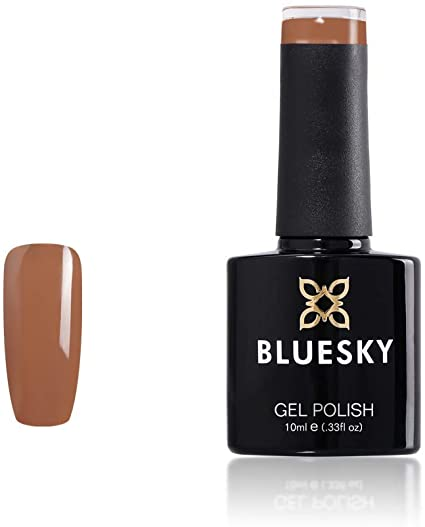 Bluesky A79 Auburn Caramel Light Brown LED Nail Gel Polish