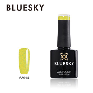 63914 Bluesky 10ml Colour Collection Gel Nail Polish UV LED