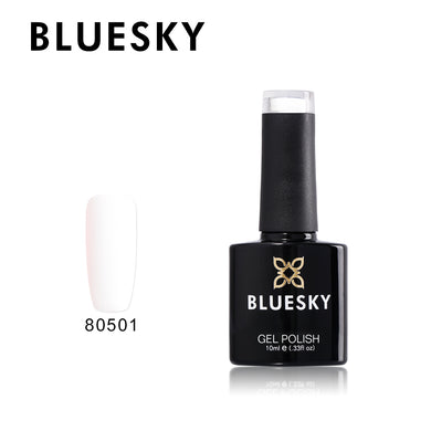 80501 Bluesky Gel Polish - Cream Puff 10ml