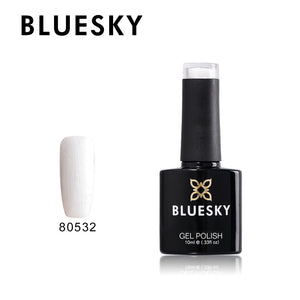80532 bluesky gel polish - Silver Chrome 10ml