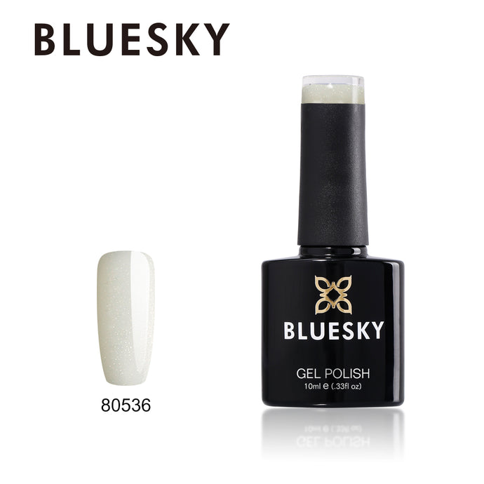 80536 Bluesky gel polish - GOLD GLITTER 10ml