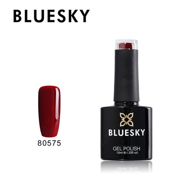 80575 Bluesky gel polish 10ml Deep Red Scarlet Letter