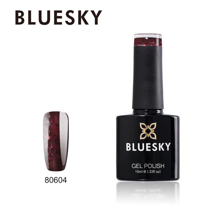 80604 Bluesky gel polish Contradictions Collection - Poison Plum 10ml