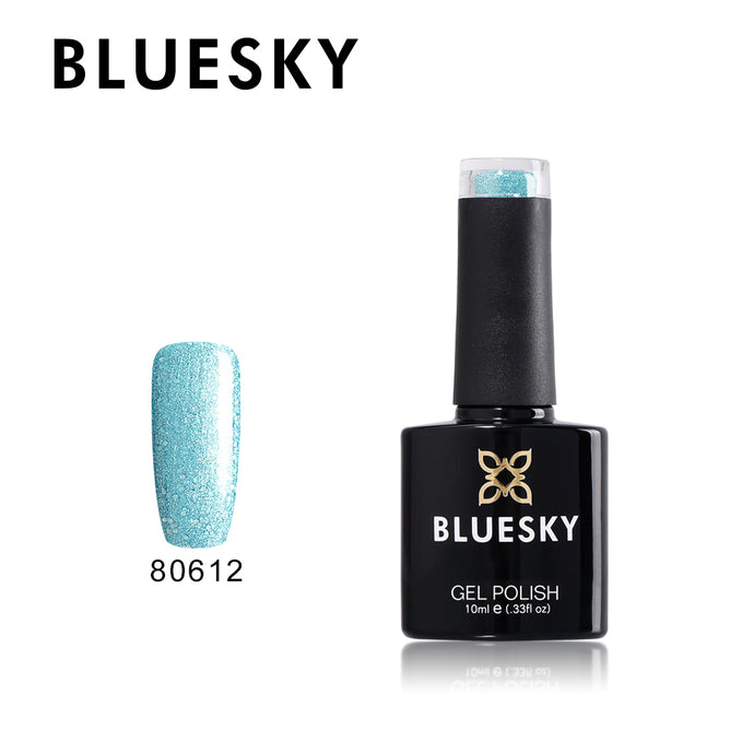 80612 Bluesky gel polish Aurora Collection - Glacial Mist 10ml