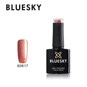 80617 Bluesky gel polish Aurora Collection - Untitled Bronze 10ml