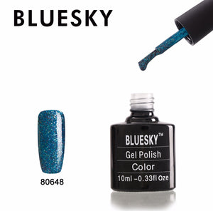 80648 Bluesky gel polish New Wave Colours (806 Range)
