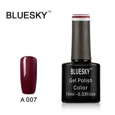 Bluesky A007 Dark Burgundy UV/LED Soak Off Gel Nail Polish 10ml