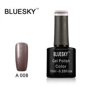Bluesky A008 Mocha VIP UV/LED Soak Off Gel Nail Polish 10ml
