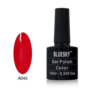 Bluesky A045 Red Rose UV/LED Soak Off Gel Nail Polish 10ml