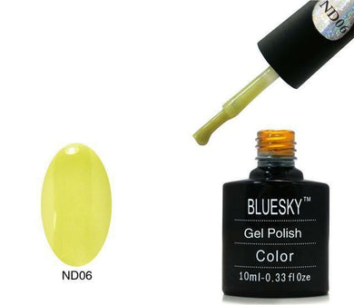 Bluesky Nude ND 06 LEMON GRASS UV/LED Soak Off Gel Nail Polish 10ml