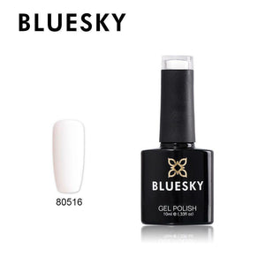 80516 Bluesky gel nail polish - French White 10ml
