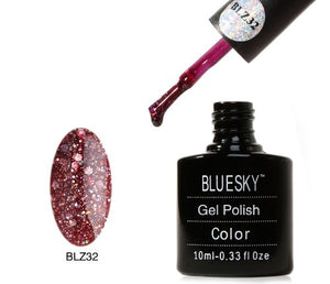 BLZ32 - Bluesky DIAMOND GLITTER - UV Gel 10ml