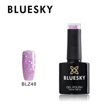 BLZ48 - Bluesky Diamond Glitter Range - uv gel 10 ml