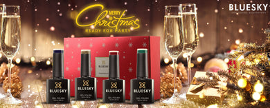 CHRISTMAS LIMITED EDITION GIFT SET 2018 - 4 Christmas Colours In Gift Box