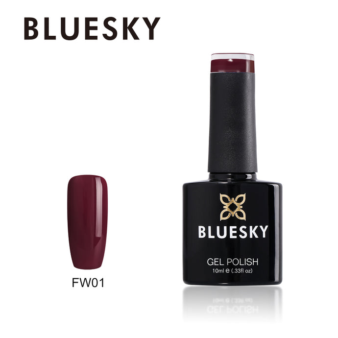 Bluesky FW 01 Fall / Winter Range UV/LED Soak Off Gel Nail Polish