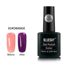 001 - Bluesky LIGHT COLOUR CHANGE UV/LED - Gel Nail Polish 10ml
